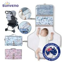 Baby Portable Foldable Reusable Waterproof Nappy Wipes Storage Changing Mat Pad