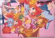 Winx Club Kinder Bettwäsche Musa Stella Flora Bloom Kids Bedding Fabric Rainbow