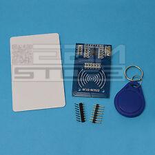 Lettore RFID con portachiavi e card - compatibile RC522 arduino - ART. CM02
