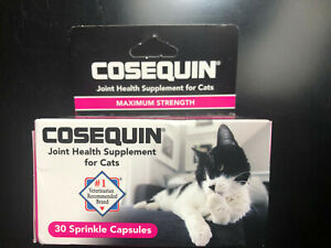 Cosequin Joint Health Supplement for Cats Maximum Strength (Brand New) Exp- 9/24