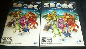 Spore Windows/Mac 2008 with Manual EA Game Disc
