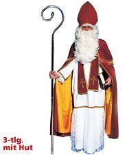 Bischof Kostüm Samt Gr. 54 XL Nikolaus Bischofskostüm hochwertig edel 12289013