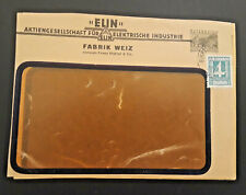 1931 Birkfeld-Gleisdorf Austria Electric Industry White Factory With Stamp Cover