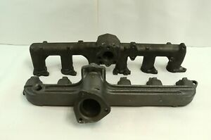 300 4.9 Ford Heavy Duty F600 F700 New Exhaust and Intake Manifold