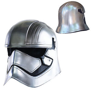 Star Wars Episode VII Maschera Integrale Mask Indossabile Cosplay Captain Phasma