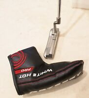 """*NEW* Odyssey Golf White Hot PRO #1 putter 35"""" steel w/cover"""