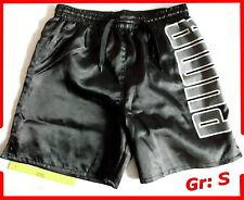 Herren Turnhose Sprinterhose glänzend Glanz Sporthose kurz Puma Gr: S , 44 - 46