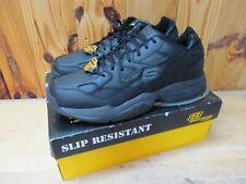 Sketchers Keystone 76690 Black Work Shoes Slip Resistant 14 M