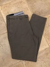Polo Ralph Lauren Chinos Cotton Trousers Grey  Size 38/32L NEW