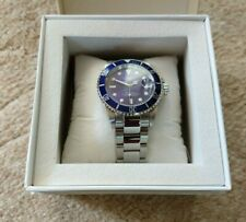 Loreo Automatic Mens Watch Submariner Homage Sapphire Crystal Blue Bezel/Dial