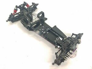*RARE* HPI SUPER NITRO RS4 ROLLER SLIDER CHASSIS W/ DRIVELINE