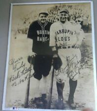 1993 Licensed Authorized Babe Ruth and Lou Gehrig Photo
