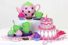 """Tea Party Set Pretend Play Toys for 18"""" American Girl Dolls"""