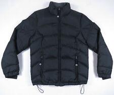 NWOT LL Bean Quilted Goose Down Puffer Ski Snowboard Gray Full Zip Coat Jacket M