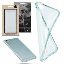 ^ Bumper Frame Bling Glitzer Strass Diamant Back Cover Für Apple iPhone 5 Grün
