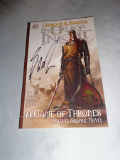 The Hedge Knight Graphic Novel Game of Thrones by George R R Martin SIGNED 2013