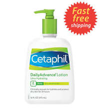 Cetaphil Daily Advance Lotion for Dry Skin, Ultra Hydrating, 16 Ounce