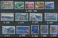 Schweiz bessere Matken gestempelt; bitte auswaehlen #g998