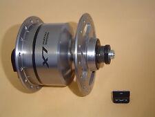 Nabendynamo SHIMANO LX DH-T670-3N 32 Loch silber 6 V   3,0 W NEU