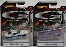 Hot Wheels 2 Different 1966 '66 Ford Mustang G Machines Classics Gassers NIP