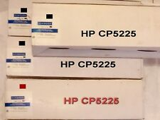 HP CP5225 - 3 x BLACK C740A + 1 x Mag C743A  = 4 COMPATIBLE TONERS SEALED