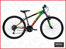 Bici Mountain Bike ragazzo 11-16 anni taglia 26 telaio 44 nero-verde 76488