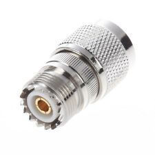 Connecteur/adaptateur coaxial UHF femelle SO-239 vers N male  I7P9