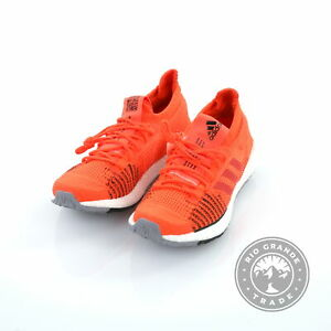 NEW adidas Running PureBOOST HD in Solar Red / Hi Res Red / Core Black - 10