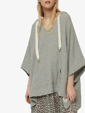 All Saints M/L 10 12 14 16 Sweatshirt Top Hoody Grey Oversized Casual RRP £108