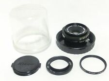 """""""Exc++!!"""" Nikon GN Auto Nikkor 45mm F/2.8 W/ClearCase & Filter from Japan #T9"""