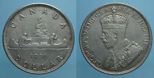 CANADA 1 DOLLARO 1936 GIORGIO V SPL