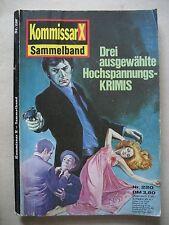 Romanhefte Kommisar X Sammelband Nr. 220
