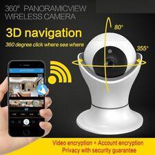 1080P HD 360° Panoramic Home Security Network IP Wifi Camera Wireless Smart Cam