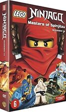 LEGO NINJAGO : MASTERS OF SPINJITZU SEASON 1 2 3 4  BOX -  DVD - PAL Region 2