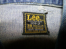 Vintage LEE Rider 101-J Denim-Work jacket  size 38