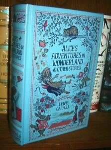 Alice's Adventures in Wonderland & Other Stories by Lewis Carroll - leather New
