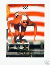 1996 UD OLYMPIC CHAMPIONS TRACY CAULKINS SWIMMING CARD #9 ~ MULTIPLES AVAILABLE