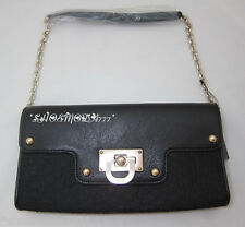 DKNY T&C W/D Town Country Classic Hardware Bag Purse Clutch Wristlet Sac New
