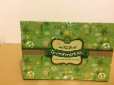 Environment 101 The Box of Answers - 70 Flash Cards on How to Help Save Planet