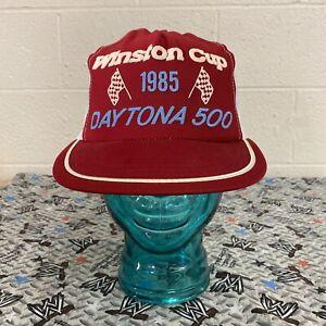 Winston Cup Daytona 500 1985 Mesh Trucker Hat Snapback Cap NASCAR