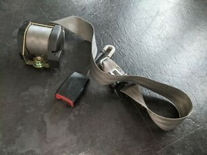 VW T5 T5.1 T6 Transporter Centre Belt for Double Front Seat RHD Grey