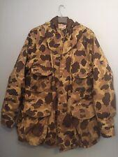 Vintage Cabela's Gore-Tex Camo Parka Hunting Jacket Coat Size Xxxl 3xl Insulated