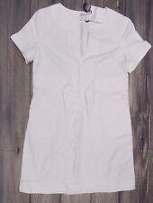 RED VALENTINO Manica Corta Collo Bianco SPLIT Vestito Nuovo con Etichetta > > > £ 400+ Taglia 46 anni'60 > > APRI