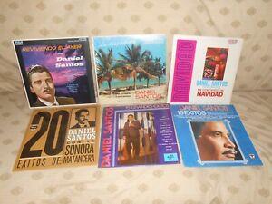 Lot of 6 LP Daniel Santos Records