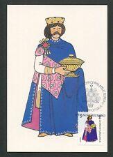 GUERNSEY MK 1985 WEIHNACHTEN CHRISTMAS NAVIDAD CARTE MAXIMUM CARD MC CM d9167