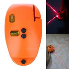 90°2 Laser Level Vertical Horizon Guide Ruler Straight Project Line Tool