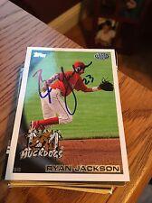 Batavia Muckdogs Ryan Jackson Autograph Signed Auto Card