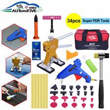 Super PDR Paintless Dent Repair Tools mini T bar Glue Gun Dent Puller lifter Tab