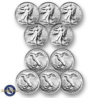 Lot of 10-- New 1/10 oz Liberty Design .999 Fine Silver Rounds