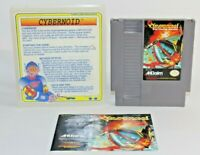 Cybernoid NES Nintendo Authentic & Tested! Comes w/ Manual & Vintage Case! NICE!